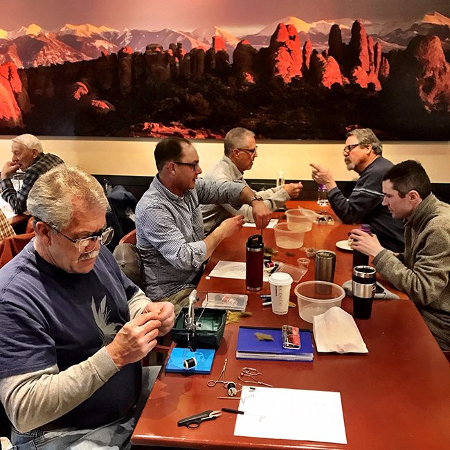 Beginner Fly Tying Jan 2019 03