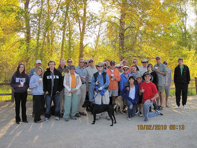 Provo River Cleanup Oct 2010 01