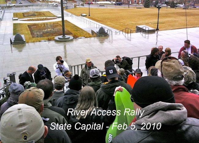River Access Rally Feb 2010 01